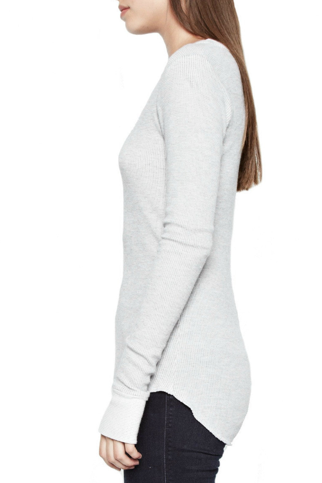 Alick LS fitted thumbhole tee - R+D Hipster Emporium | Womens & Mens Clothing - 3