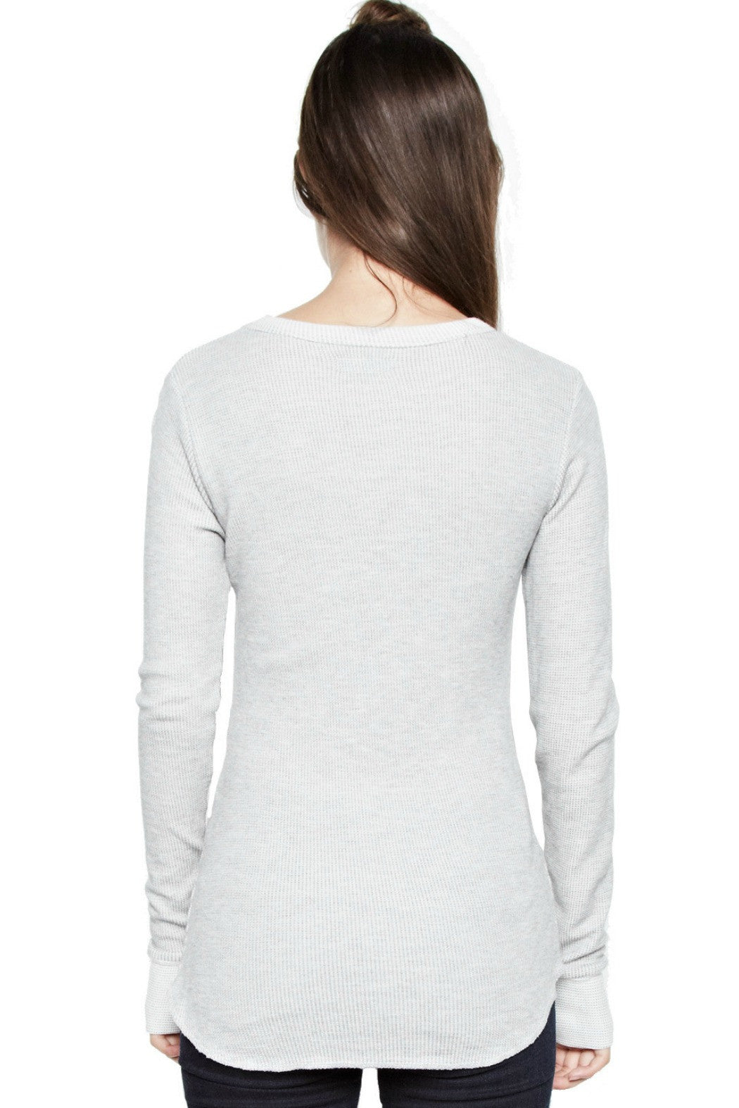 Alick LS fitted thumbhole tee - R+D Hipster Emporium | Womens & Mens Clothing - 4