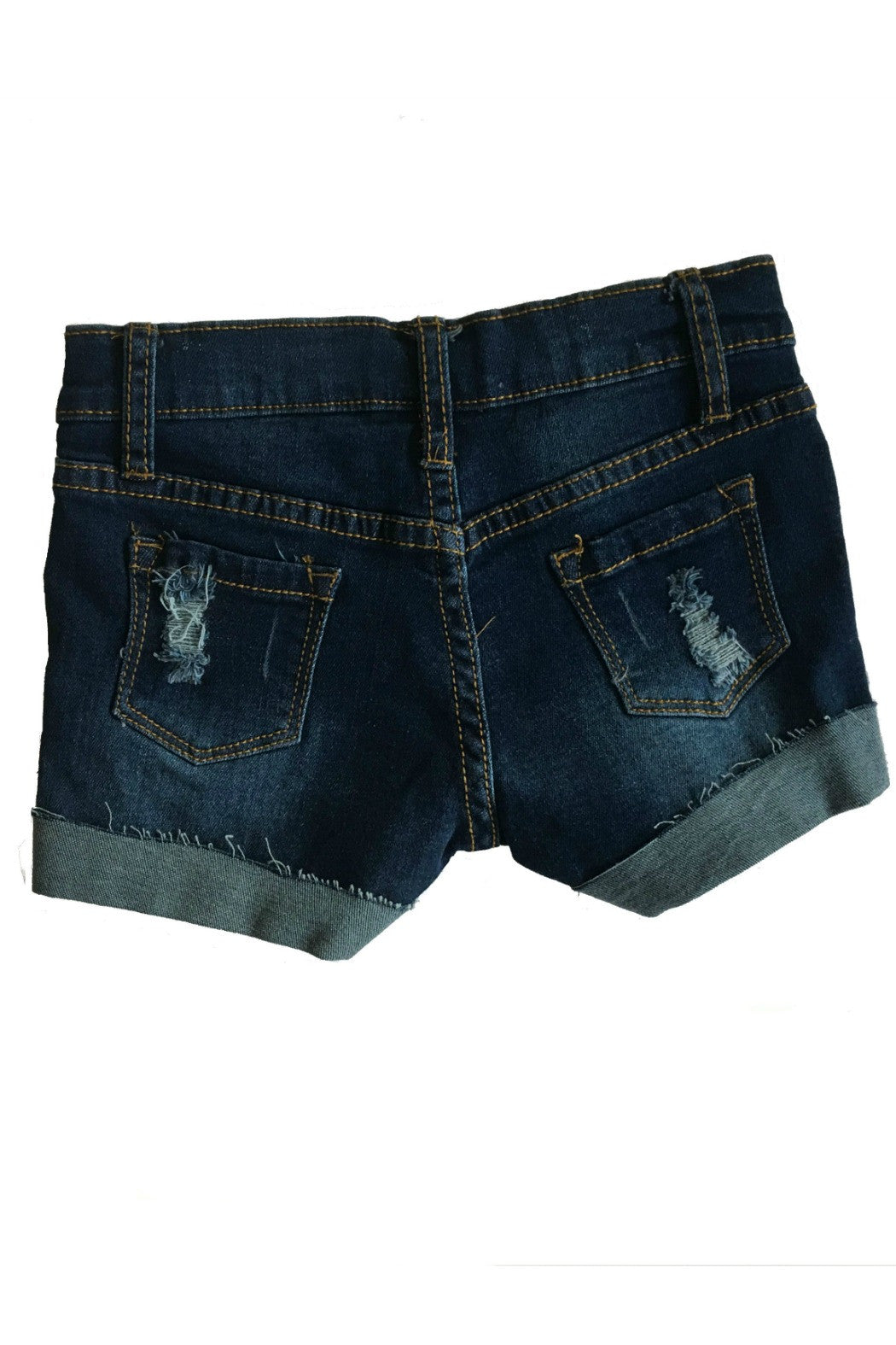 Vintage Havana Kids - Destroyed cuffed shorts - R+D Hipster Emporium | Womens & Mens Clothing - 2