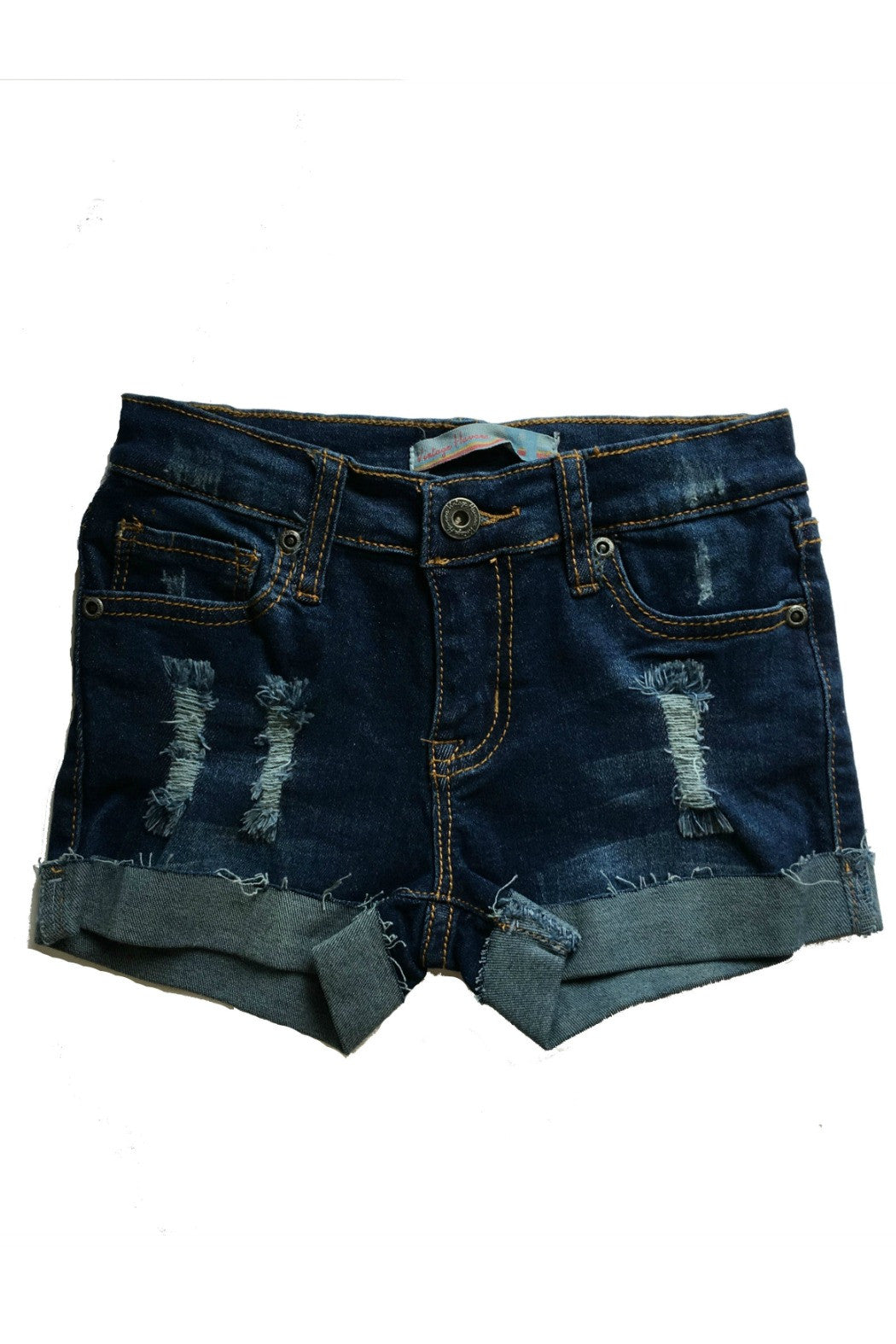 Vintage Havana Kids - Destroyed cuffed shorts - R+D Hipster Emporium | Womens & Mens Clothing - 1