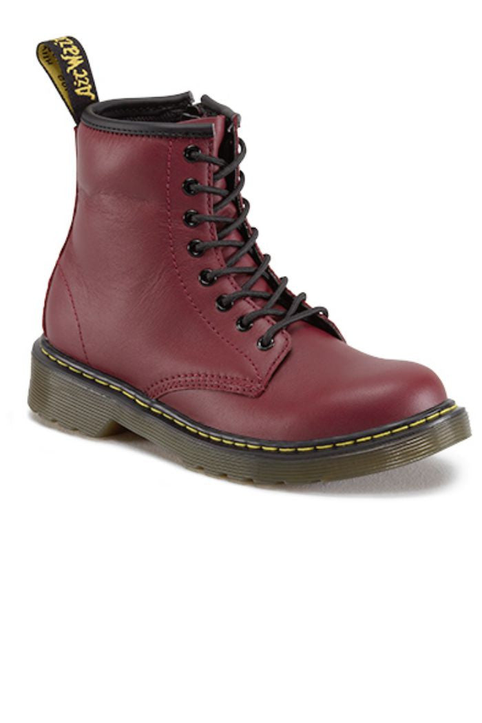 Dr. Marten - Delany Boot in Cherry Red - R+D Hipster Emporium | Womens & Mens Clothing - 1