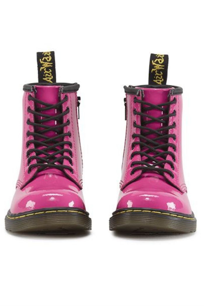 Dr. Martens - Brooklee Boot in Hot Pink Patent Lamper - R+D Hipster Emporium | Womens & Mens Clothing - 5