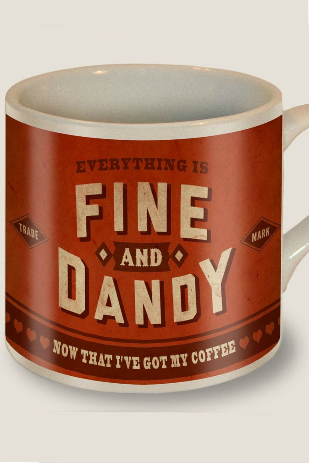 Trixie & Milo - Fine and Dandy coffee mug