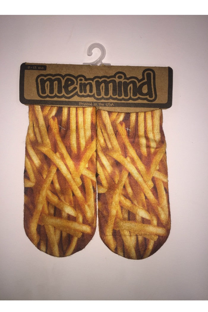 Me in Mind - Fries socks - R+D Hipster Emporium | Womens & Mens Clothing - 3