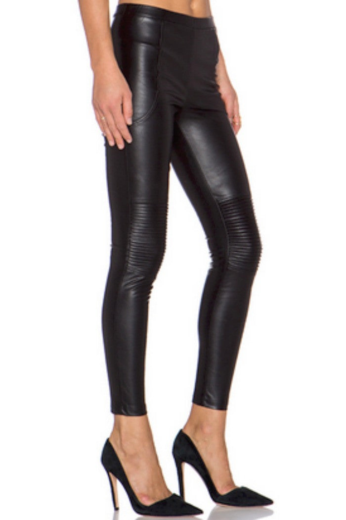 Line + Dot - Mauvaus Garcon Moto Pant in Black - R+D Hipster Emporium | Womens & Mens Clothing - 2