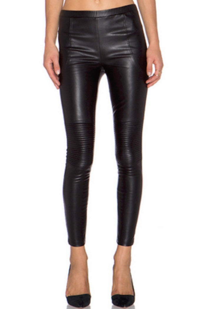 Line + Dot - Mauvaus Garcon Moto Pant in Black - R+D Hipster Emporium | Womens & Mens Clothing - 1