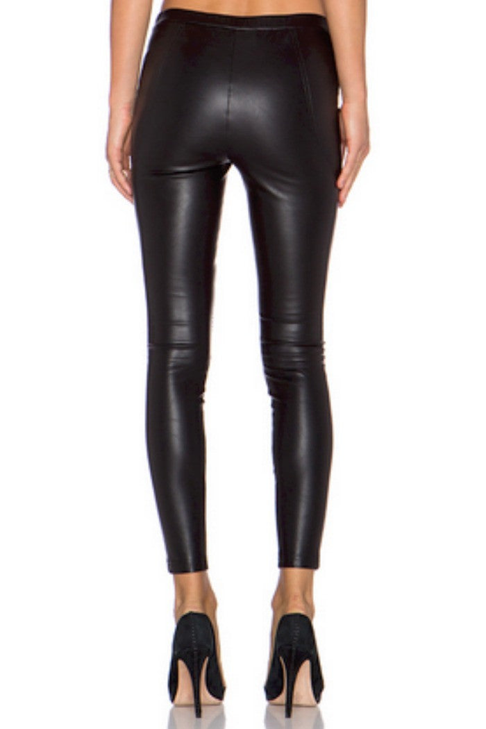 Line + Dot - Mauvaus Garcon Moto Pant in Black - R+D Hipster Emporium | Womens & Mens Clothing - 3