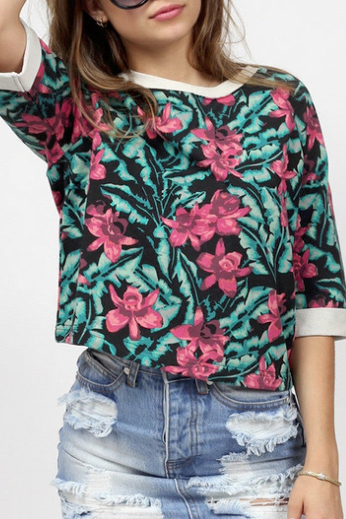 MINKPINK - Sundown Jungle Top in Multi - R+D Hipster Emporium | Womens & Mens Clothing - 2
