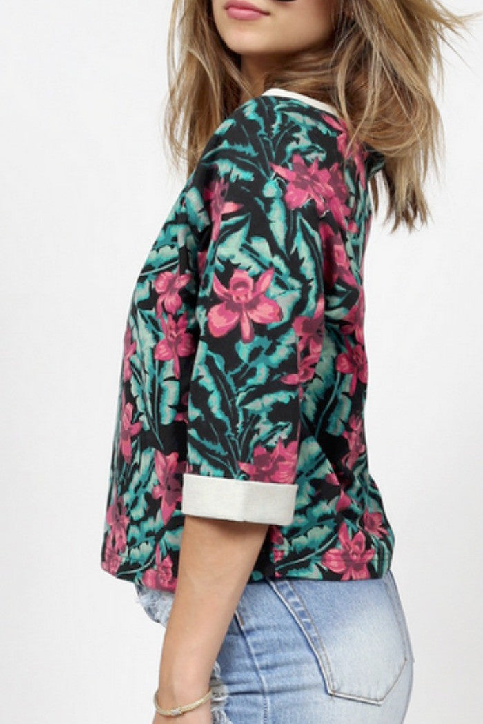 MINKPINK - Sundown Jungle Top in Multi - R+D Hipster Emporium | Womens & Mens Clothing - 3