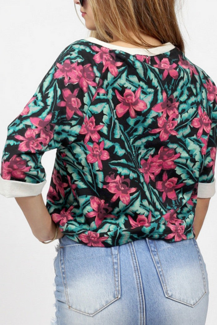 MINKPINK - Sundown Jungle Top in Multi - R+D Hipster Emporium | Womens & Mens Clothing - 4