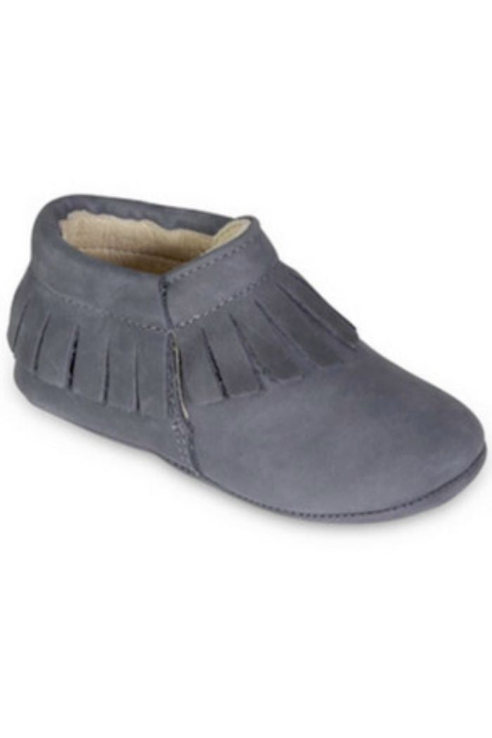 Old Soles Australia - Fringe Bootie Moccasin in Navy - R+D Hipster Emporium | Womens & Mens Clothing - 3