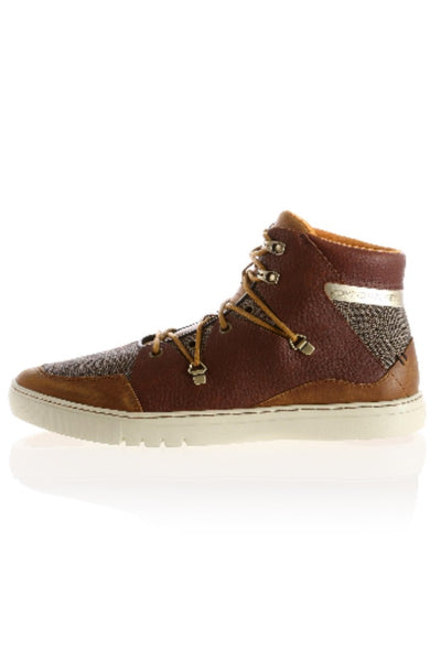 Creative Rec - Spero Tweed Sneaker in Brown - R+D Hipster Emporium | Womens & Mens Clothing - 1