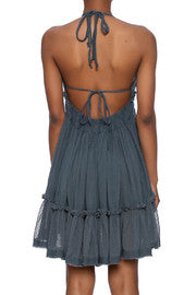 Vintage Havana - Crinkle Strappy Dress - R+D Hipster Emporium | Womens & Mens Clothing - 4