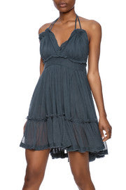 Vintage Havana - Crinkle Strappy Dress - R+D Hipster Emporium | Womens & Mens Clothing - 2