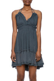 Vintage Havana - Crinkle Strappy Dress - R+D Hipster Emporium | Womens & Mens Clothing - 3