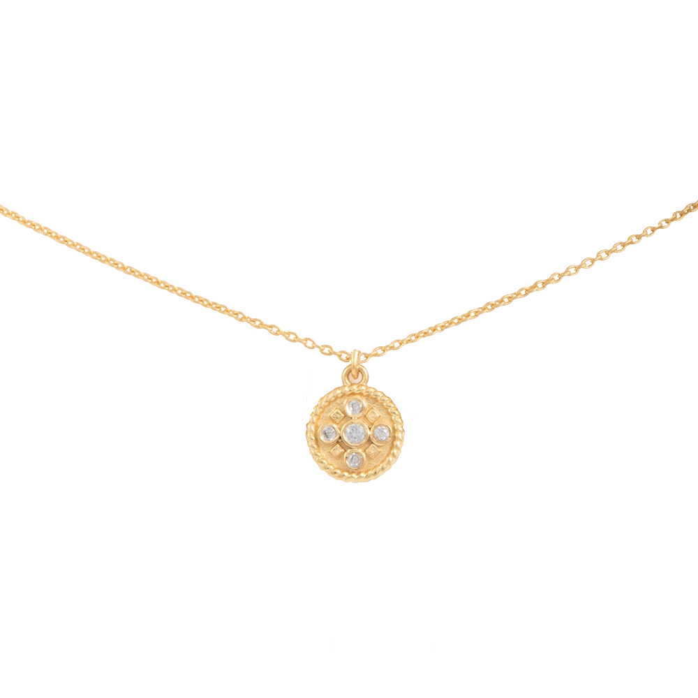 Colgante con moneda Itzia Mini de Lavani Jewels