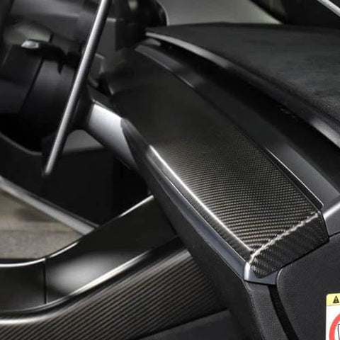 Model Y Real Carbon Fiber Mods