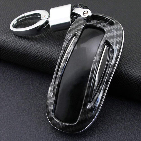 Carbon Fiber Style Key Case/Cover for Model X - PimpMyEV
