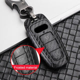 Carbon Fiber Style Key Fob Case for Audi e-tron 50 - PimpMyEV