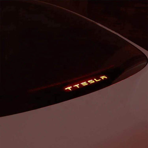 Rear Brake Light Tesla Decal For All Teslas - PimpMyEV