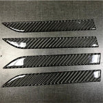 4PCS Carbon Fiber Style Door Handle Protection Covers for Model X - PimpMyEV