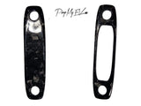 2PCs Genuine Forged Carbon Fiber Spotlights Cover Plates (front and back) for Model Y - PimpMyEV