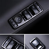 Carbon Fiber Style Window & Door Switch Covers for Model S (Left Hand Drive) - PimpMyEV