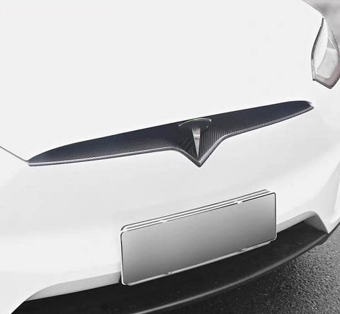 Genuine Carbon Fiber Front Lip for Model S (Gloss) - PimpMyEV