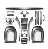 Ultimate Genuine Carbon Fiber Upgrade Kit For Model 3 Matte (3 options) - PimpMyEV