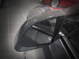 Genuine Carbon Fiber Side Mirror Covers For Tesla Model Y (Gloss) PREORDER - PimpMyEV