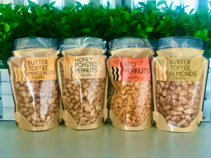 Nut Variations in Small & Large Jar Bags