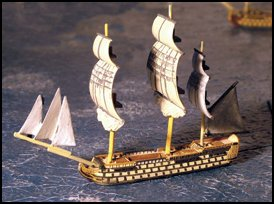 120 Gun Ship-of-the-line (L'Ocean) - Battle Sails
