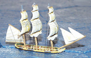 20 Gun Corvette (La Fauvette) - Battle Sails