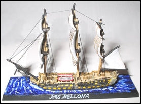 74 Gun Ship-of-the-line (HMS Bellona) - Battle Sails