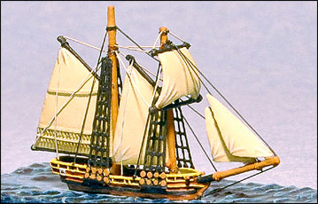 8 Gun Schooner - Battle Sails