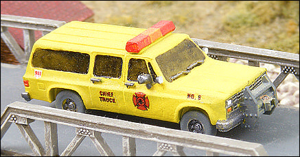 Fire Chief's Car
