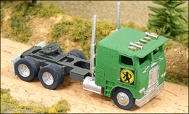 Freightliner Cab Over Tractor
