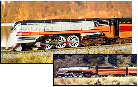Milwaukee Road F-7 Hiawatha 4-6-4 Hudson