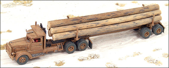 1941 PB Logging Truck &Trailer