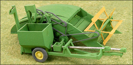 1940s Green 12-A Grain Harvester