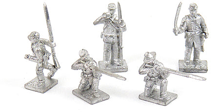 Skirmishers in Action Poses (USA)