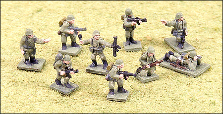 Late War German Individual Infantrymen