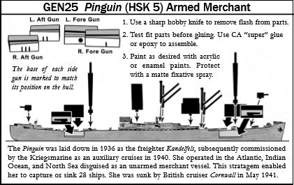Pinguin (HSK 5) Armed Merchant