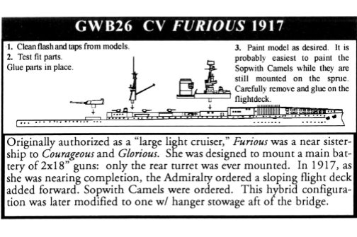CV Furious (Great War)