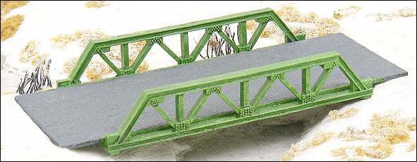 Single Span Truss Bridge