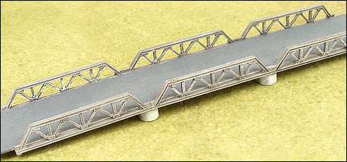 Triple Span Truss Bridge