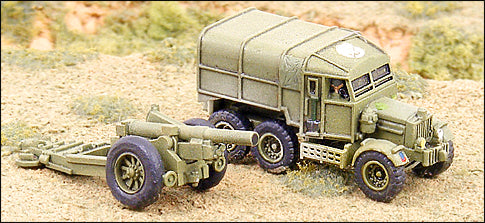 "7.2"" Gun/Howitzer w/ Scammell Prime Mover"
