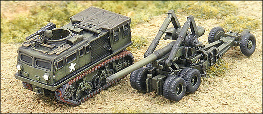 "M2 155mm ""Long Tom"" w/M4 Tractor"