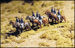 US Mounted Cavalry - Walking