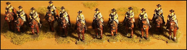CS Mounted Cavalry - Walking